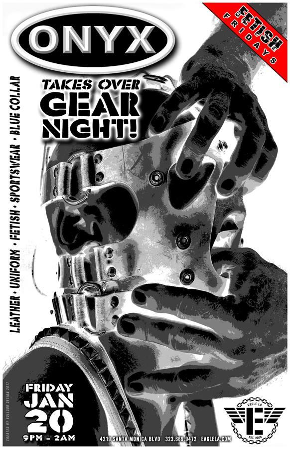 ONYX-SW Gear Night Poster