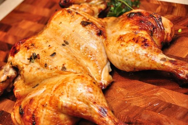Vino Cotto and Citrus Roast Chicken