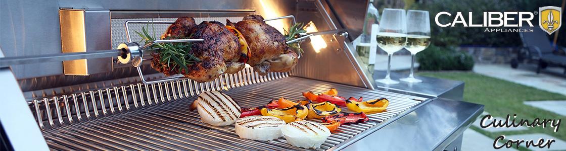 Caliber Culinary Corner e-news header