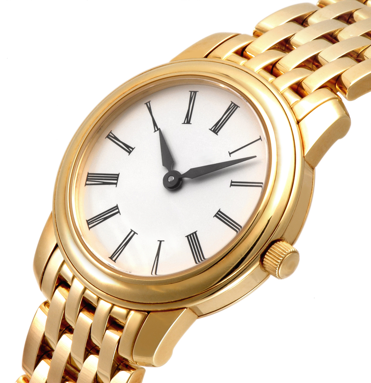 Einde gouden horloge en vulpen