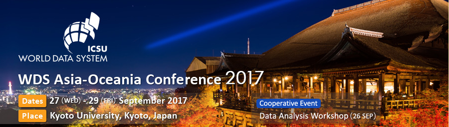 Banner for WDS Asia-Oceania Conference 2017