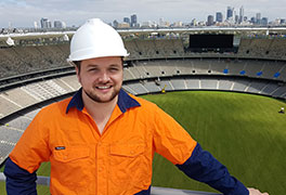 Jamie Mackenzie, Senior Stadium Consultant - new Perth Stadium