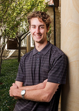 Patrick Donovan, UWA Alumni Inspire Scholarship recipient & Bachelor of Science student