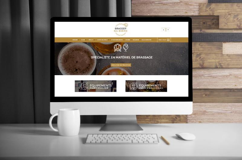 Nouveauté du studio web : le site Brasser sa Bière