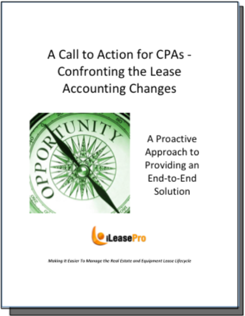 CPA Call to Action - Confronting the Lease Accounting Changes