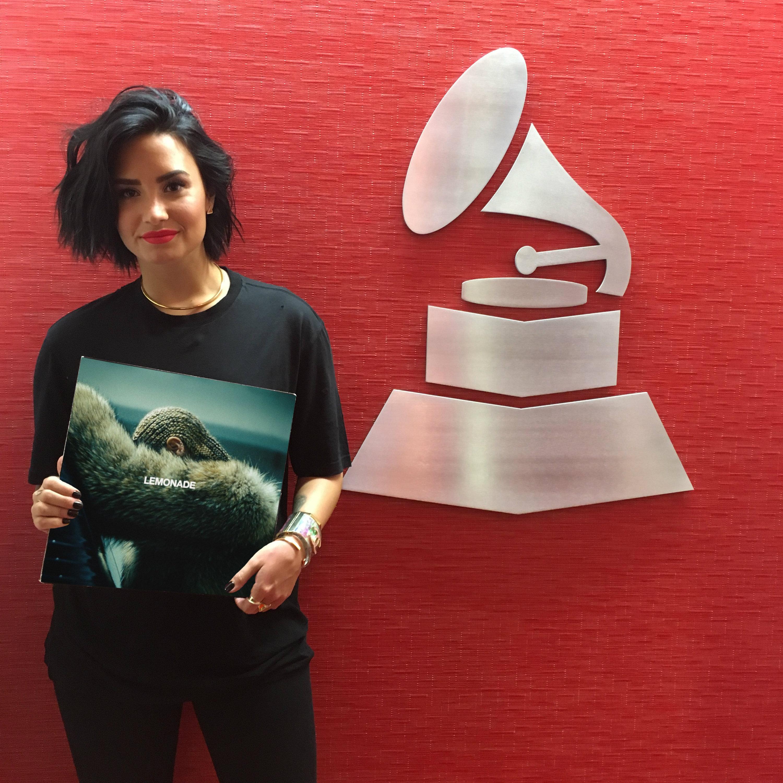 Demi Lovato Participates In The MusiCares Challenge
