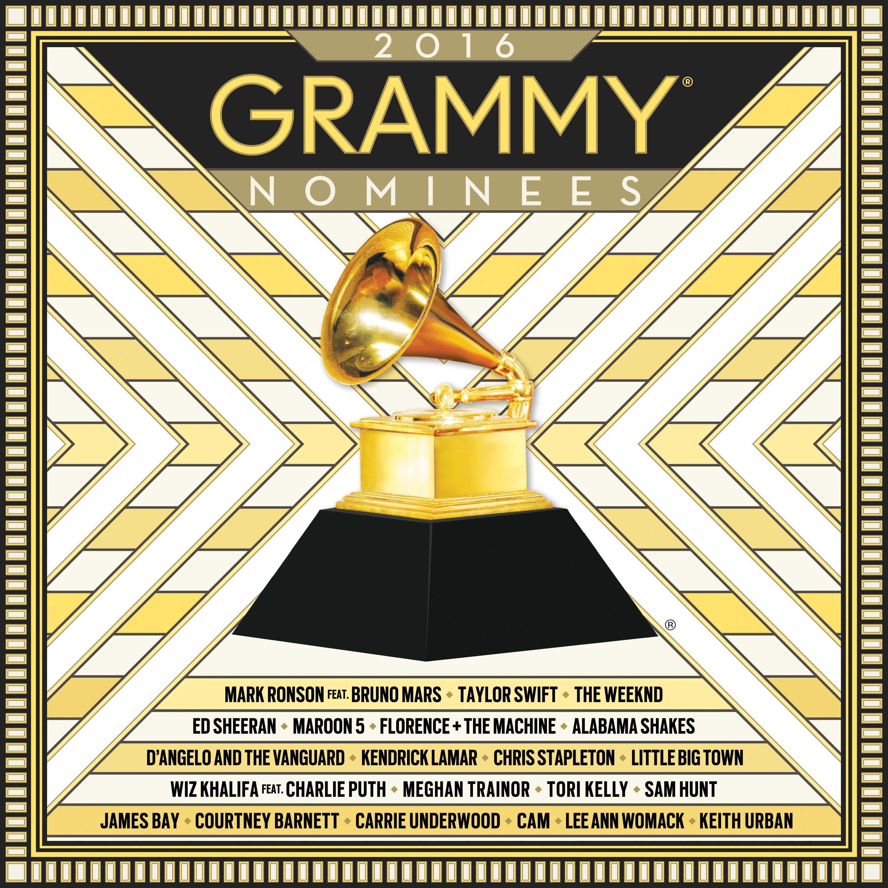 2016 Grammy® Nominees album available now