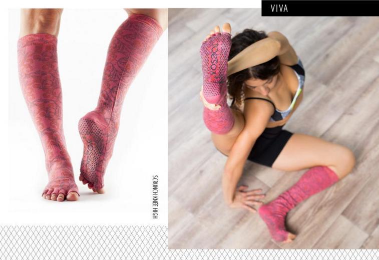 Nuova collezione Toe Sox Viva.