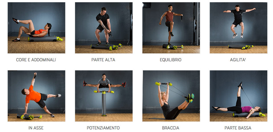 MOTR sviluppa tutto il corpo. Equilibrio, agilità, potenziamento, cardio, elasticità.