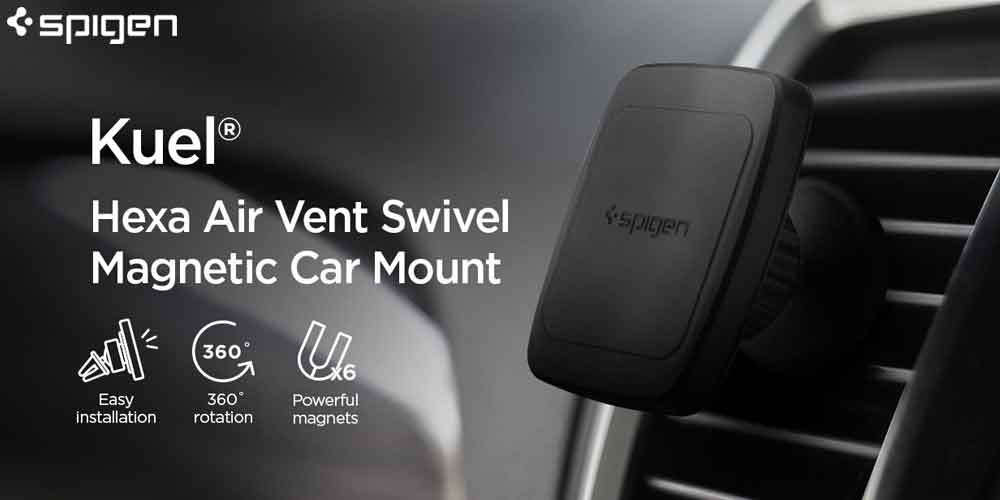 Spigen H12 magnetic Car mount