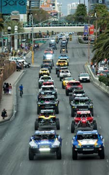 4 Wheel Parts Mint 400 Off-Road Vehicle Parade