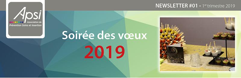 APSI - NEWSLETTER  1er trimestre 2019 - Soirée des voeux 2019