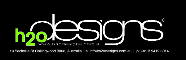 h2odesigns.com.au - custom design, develop, build water features and planter boxes in Melbourne, Australia with LICOM76, the lightweight concrete composite.