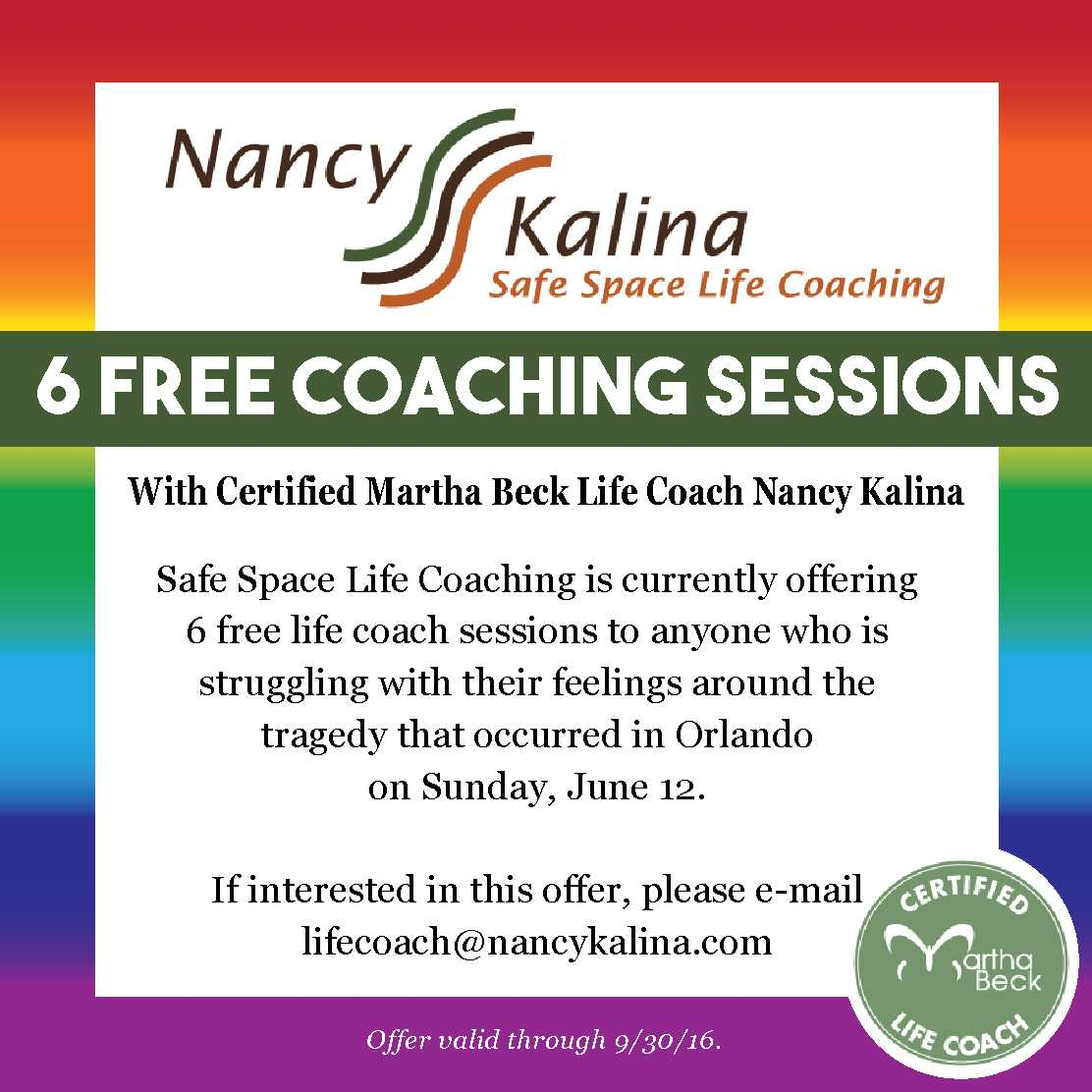 6 Free Coaching Lessons