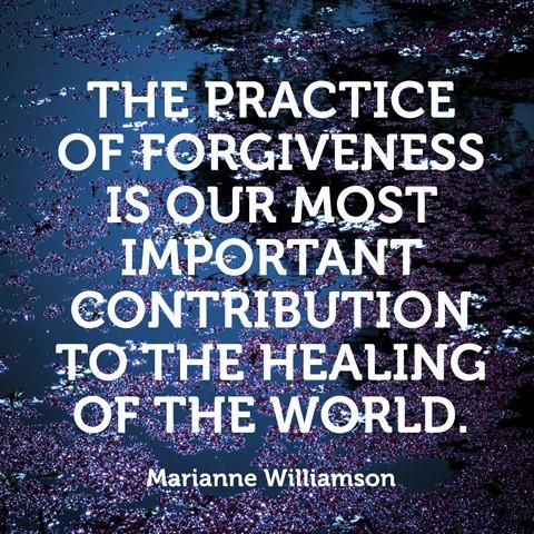 Practice Forgiveness