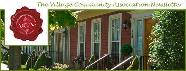 Village Community Association Newsletter