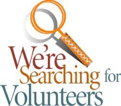 Volunteer - yes we mean you!