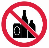 No Booze!
