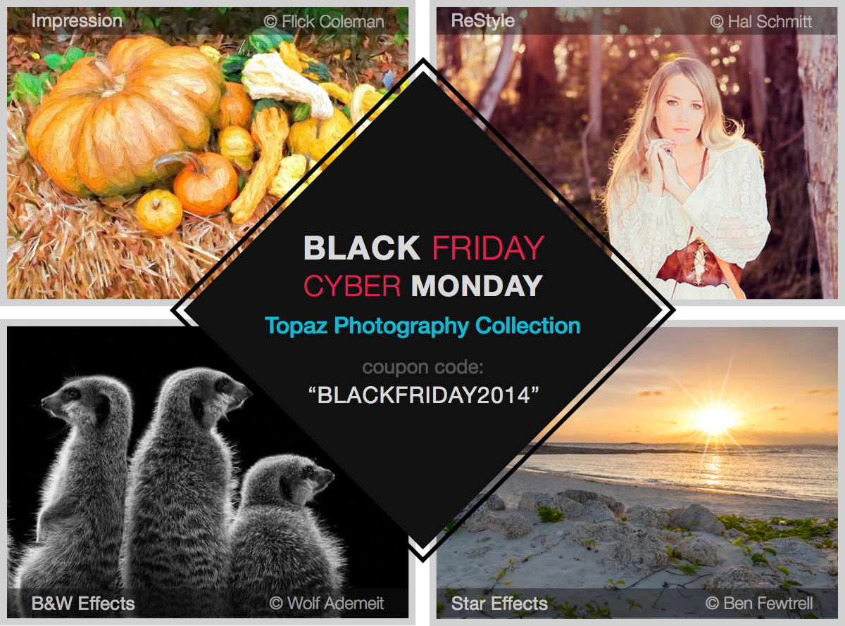 Get 50% off the Topaz Photography Collection