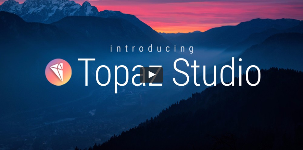 A short introduction to Topaz Studio.
