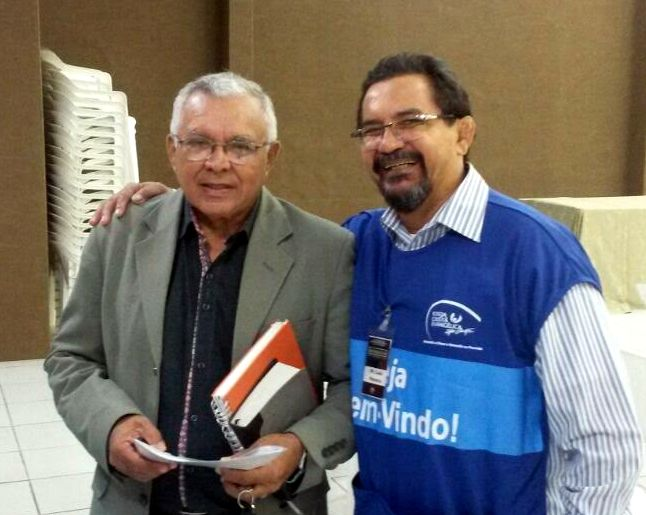 Pr. Edvaldo with Pr. Luis