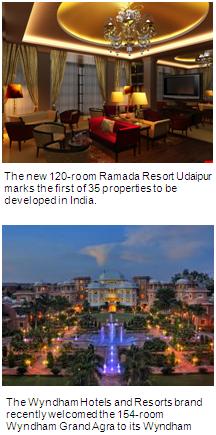 Ramada Resort Udaipur and Wyndham Grand Agra