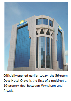 The 56-room Days Hotel Olaya