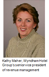 Kathy Maher, Wyndham Hotel Group's SVP, Revenue Management