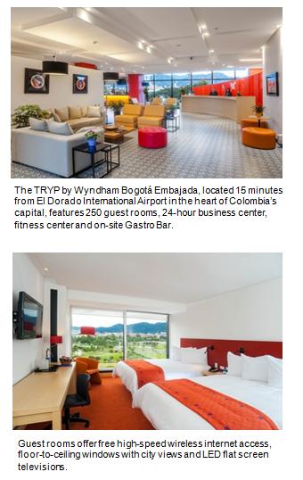 New TRYP by Wyndham hotel in Bogotá