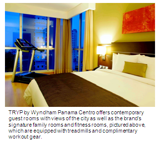A fitness room at TRYP by Wyndham Panama Centro