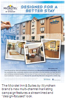 The Microtel Inn & Suites by Wyndham Print Ad