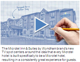 The Microtel Inn & Suites by Wyndham TV Spot