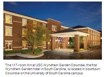 The Inn at USC Wyndham Garden Columbia