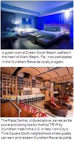 Wyndham Rewards Adds Dream, Night and TRYP by Wyndham