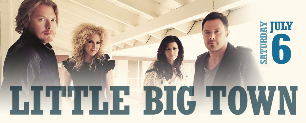 Little Big Town to perform at the 2013 CBMF!