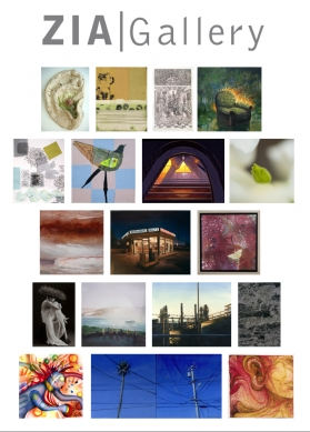 Images of selected artworks by gallery artists.