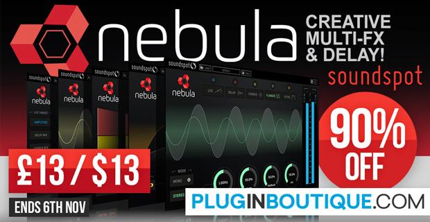 SoundSpot Nebula Introductory Sale - 90% Off