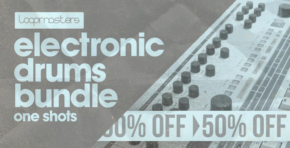 Electronic Drums Bundle - 50% Off