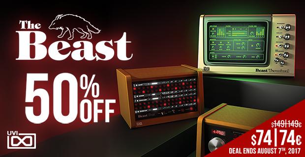 UVI The Beast Sale - 50% Off