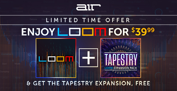 Air Music Loom + Free Tapestry Expansion Pack Sale - 69% Off