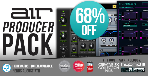 AirMusic Producer Pack Sale (Exclusive) - 68% Off
