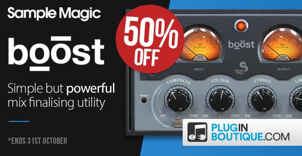 Sample Magic Boost Sale - 50% Off