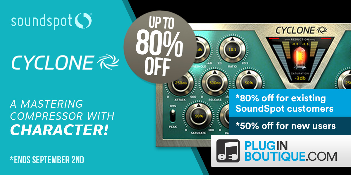 SoundSpot Cyclone - 50% Off