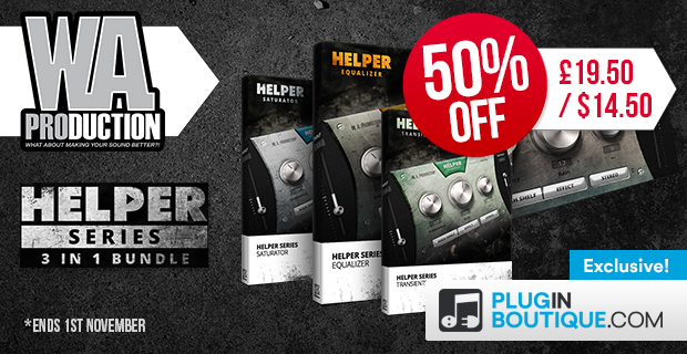 W.A Production Helper Series Sale (Exclusive) - 50% Off