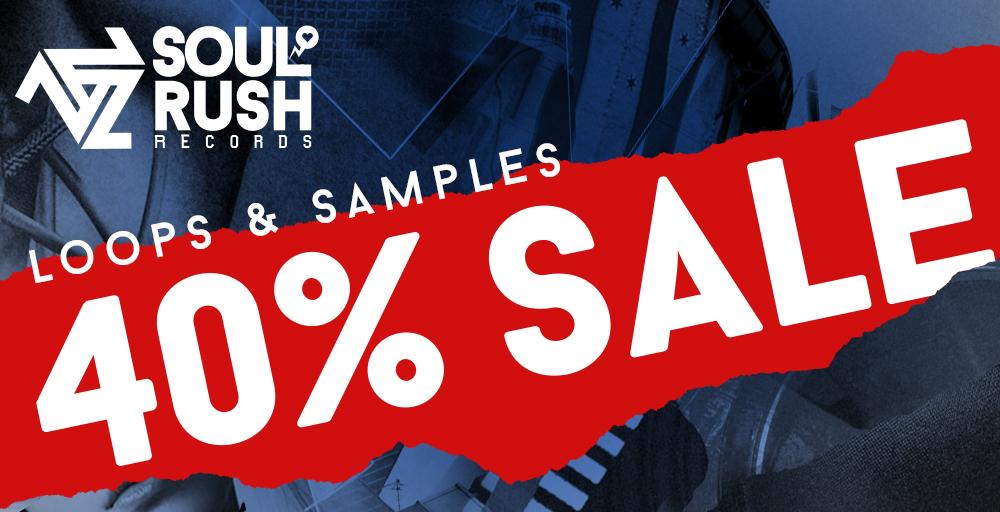 Soul Rush Records 40% Off Sale