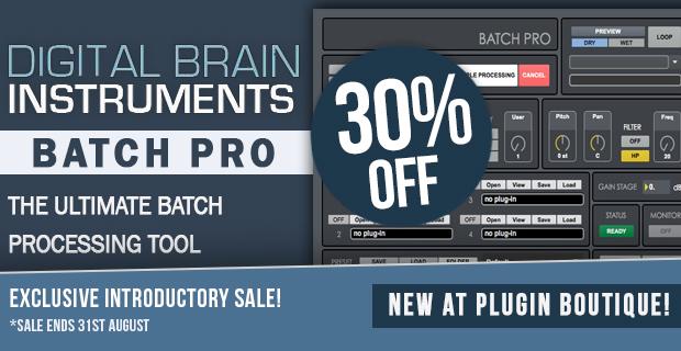 Digital Brain Instruments Batch Pro Sale (Exclusive) - 30% Off
