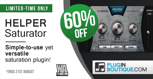 W.A Production Helper Saturator Sale (Exclusive) - 60% Off