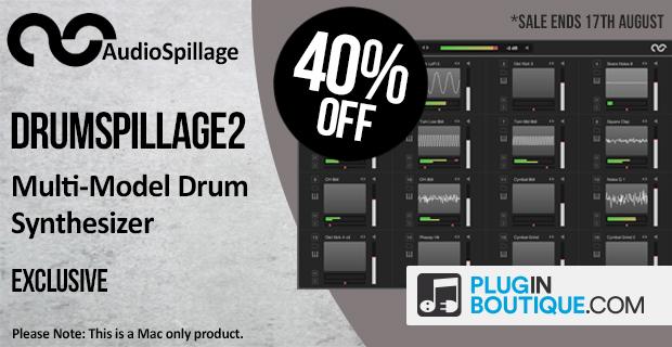 AudioSpillage DrumSpillage2 Sale (Exclusive) - 40% Off