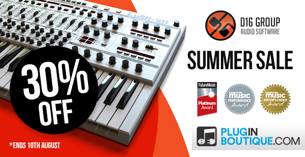 D16 Summer Sale - Up To 30% Off