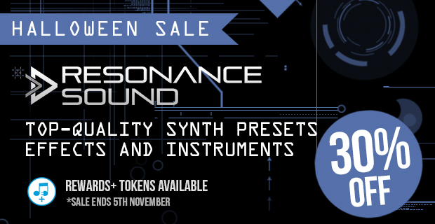 Resonance Sound Halloween Sale - 30% Off